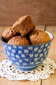 This Delicious and Moist High Fiber Muffins recipe is a tasty way to get your daily dose of fiber.data-pin-do=