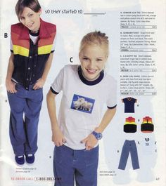 Oh wow 90s flashback Delia's catalog I wanted everything this is totally me in 8th grade whoa