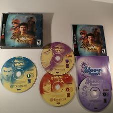 Shenmue (Sega Dreamcast, 2000) Complete with passport and manuals Good Condition Buy now! #goodcondition #segadreamcast #goodpassport