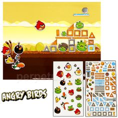 ANGRY BIRDS MAGNET PLAYSET