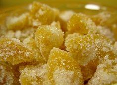 ginger candy, ginger syrup, ginger ale...