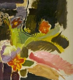Ivon Hitchens (1893–1979): Flower Piece, New Walk Museum & Art Gallery, Leicester Arts and Museums Service