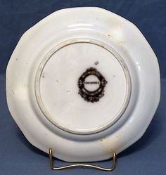 Flow Mulberry Ironstone Plate, Alcock in Vincennes Pattern 1857 Flow, Plates, Tableware, Pattern, Licence Plates, Dishes, Dinnerware, Griddles, Tablewares
