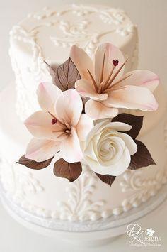 beautiful sugar flowers