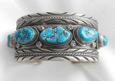 Heavy+Vintage+Navajo+Signed+EGB+Sterling+.  /Absolutely love this EL./