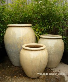 Wonderful Large Glacier White Glazed Pot Water Jar | Woodside Garden Centre | Pots To  Inspire | Large Glacier Cream Green Garden Pots | Pinterest | Garden  Products, ...