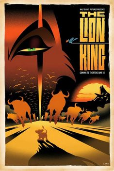 Poster for The Lion King starring Scar by Eric Tan for an art show starring Disney villains. You can buy a few prints by Eric Tan at Ga. Disney Pixar, Animation Disney, Art Disney, Disney Kunst, Disney Villains, Disney And Dreamworks, Disney Love, Disney Magic, Animation Movies