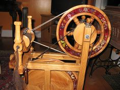 Black Locust Betty Roberts spinning wheel