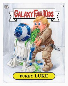 Pukey Luke Garbage Pail Kids Print by Jason Chalker.jpg (JPEG Image, 786×1000 pixels) - Scaled (90%)