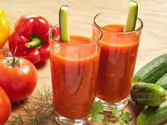Home Made Vegetable Juice Recipe:     3 ripe tomatoes,peeled,cored, seeded and chopped, 1/2 sweet green pepper, cored, seeded and cut into 1-inch(2.5 cm) pieces, 1/2 small cucumber, peeled, seeded and sliced, 2 tsp.freshly squeezed lemon juice, 1/2 tsp. p home made detox drinks