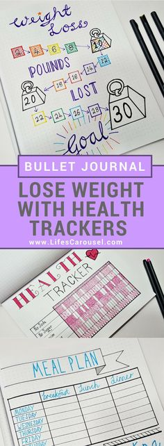 Weight Loss Tracker for Bullet Journal – Develop Healthy Habits! Weight Loss Tracker for Bullet Journal – Develop Healthy Habits! Start Losing Weight, How To Lose Weight Fast, Weight Gain, Body Weight, Reduce Weight, Weight Loss Meal Plan, Weight Loss Tips, Bullet Journal Simple, Bullet Journals