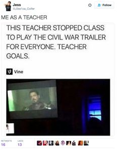 """This fine educator who specializes in the real history lessons:   21 Photos That Will Make You Say """"Me As A Teacher"""""""