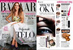 Harper's Bazaar v květnovém vydání 2015 dooručuje odličovací olej 67 od Maria Galland. Najdete u SlimFOX!