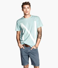 T-shirt with Printed Design | H&M US