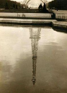 Eiffel Tower, ca 1930  by Rod Rieder