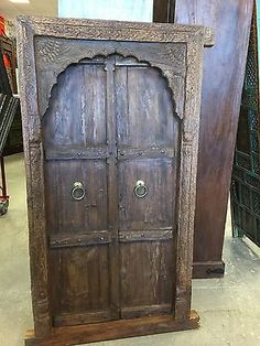 Indian-Antique-Vintage-Teak-Window-Terrace-Door-Arched-Mehrab-Carved-Jharokha    http://stores.ebay.com/mogulgallery/ARCHITECTURALS-/_i.html?_fsub=353413619&_sid=3781319&_trksid=p4634.c0.m322