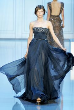 Navy dress (Elie Saab)