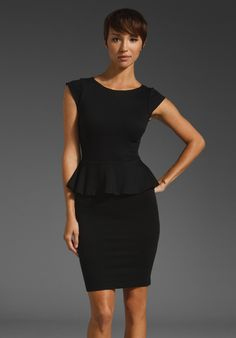 Like the peplum style...just not sure if it's meant for a curvy body.