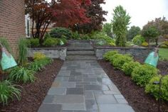 "Pennsylvania Bluestone Blue Select Tumbled, 2"" Thick, Full-Dimensions w/tumbled finish, 6""x6"", 6""x12"", 12""x12"" & 12""x18""."