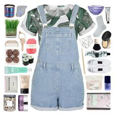 """""""yeah-bunny 2"""" by deep-breaths ❤ liked on Polyvore featuring Topshop, Threshold, Kosta Boda, Davines, NARS Cosmetics, Clinique, L:A Bruket, Maria La Rosa, Origins and Tom Dixon"""