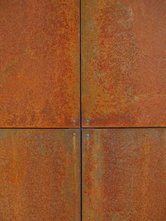 Corten Steel Panels for retaining walls off road parking/front path and rear garden