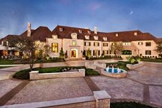 Enchanting Inside Luxury Mansions on Architecture Design Villa Architecture, Texas Mansions, Mansion Homes, Extravagant Homes, Huge Houses, Amazing Houses, Fancy Houses, Amazing Cars, Awesome