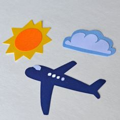 Travel Theme Appliques Iron On  No Sew by HappyPatches on Etsy, $12.00