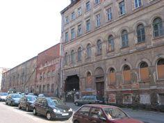 Braustraße 26 mit Gildesaal 2005, vor dem Abriß der hinteren Gebäudeteile.