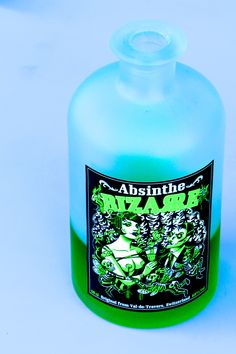 New Absinthe Bizarre from the Val-de-Travers.  Prepared following an ancient and unique recipe with plants native to the Val-de-Travers region. Cabaret Bizarre presents an Absinthe extravaganza that takes you to the edge of conventional existence, into a world of mystique, enchantment, jeopardy and thrill. Where dark fantasies become reality. Be enchanted by the bizarre Swiss seductress! www.absinthebizarre.chh