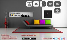 Decorate your home Come to wonderhomes Get free home interior and architecture design planings ideas at wonderhomes android, Ios, web application. platform.