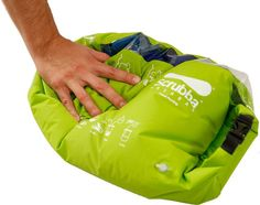 """The Scrubba is the first pocket-sized """"washing machine""""! Washing clothes is one of the least favorite tasks of the household chores, and even more when you´re traveling or camping in remote areas. Simply add water, laundry liquid and clothing, then rub your clothes against the internal washboard."""