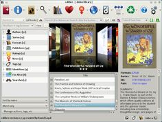 calibre - Watch it in action -Great for all kind of e-books-management,viewer,conversion tools