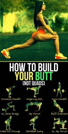 There's no shortage of effective butt exercises out there, but what gives when they just don't feel all that effective for you? If your glutes take a rain check while your legs put in the all the work during lower-body exercise Fitness Workouts, Butt Workout, At Home Workouts, Fitness Motivation, Toned Legs Workout, Glute Workouts, Hamstring Workout, Band Workouts, Lifting Motivation