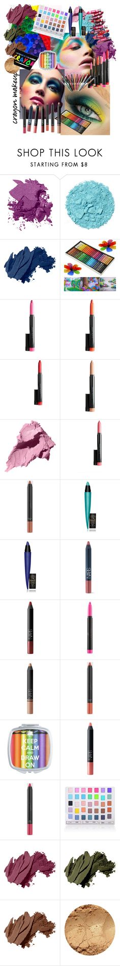 """""""World of Color"""" by mary-kay-de-jesus ❤ liked on Polyvore featuring beauty, Bobbi Brown Cosmetics, MAC Cosmetics, NARS Cosmetics, Lancôme, Clinique and Shany"""