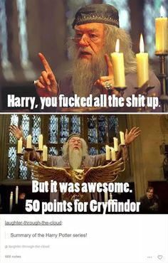 20 Funny and Magical Harry Potter Memes Found Online - Harry Potter ❤ - Harry Potter Tumblr Posts, Harry Potter Jokes, Harry Potter Fandom, Hogwarts Tumblr, Haha, Be My Hero, Film Serie, Look At You, Laughing So Hard