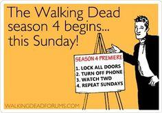 Season 4 Premiere: Sun., Oct. 13, 2013                              <>                THE WALKING DEAD