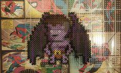 Disney's Gargoyles Goliath Perler Beads by sanzosgal. I made this from pixel art pic I found online.