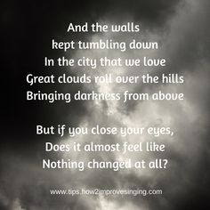 Click here to find out what song these lyrics are from: http://tips.how2improvesinging.com/lyrics-week-2014/