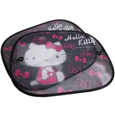 Hello Kitty 2pcs Side Sun Shade Window Screen Visors Car Truck Accessories | eBay