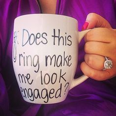 Haha I might just make it for one of my friends that get in engaged next.