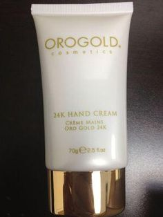 Oro Gold Cosmetics 24K italy hand care luxury brand spa facial