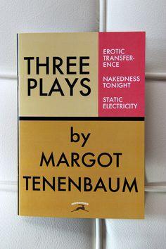 Wes Anderson inspired, Margot Tenenbaum notebook from the Royal Tenenbaums