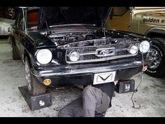 Bobb Gear : 1966 Mustang in lavorazione & Super Jeep CJ5 8.3L