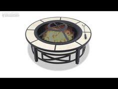 Centurion Supports NUSKU Multi-Functional Black Outdoor Fire Pit [centurion-nusku] - £149.00 : 123av.co.uk, Great Deals on LCD TVs | Sony Blu Ray Recorders | Alphason TV Stands | Samsung Flat Screen TVs
