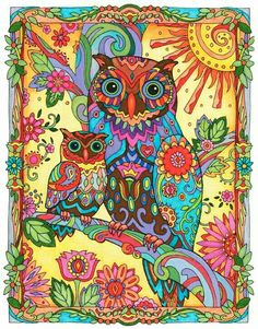 Creative Haven Owls 9