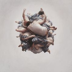 // Cluster, by Jeremy Geddes. Incredible Paintings !