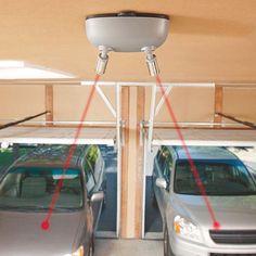 12 best garage parking sensor images on pinterest garage parking park right dual garage laser parking sensor solutioingenieria Gallery