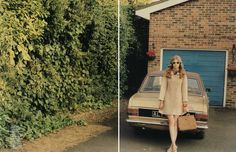 Americana 70's inspired AnOther Magazine // Fall/Winter 2010 Ph. Venetia Scott // Stylist: Marie-Amélie Sauvé
