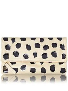 In love with this Clare V. Supreme Foldover Clutch!  #shopping #wishlist #dearsanta