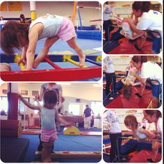 Toddler gymnastics rules!